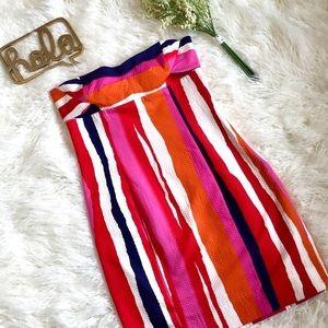 NWT Diane Von Furstenberg Strapless Dress